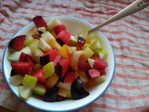 p fruit salad